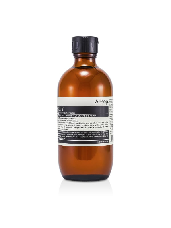 Aesop Women's Parsley Seed Facial Cleansing Oil Face Cleanser - N/A - Front
