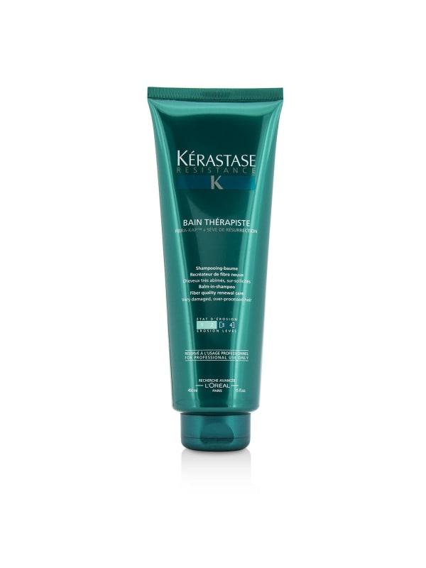 Kerastase Women's Resistance Bain Therapiste Balm-In -Shampoo Fiber Quality Renewal Care Gel