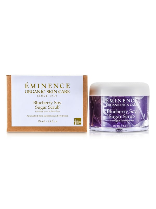 Eminence Women's Blueberry Soy Sugar Scrub Body Care Set