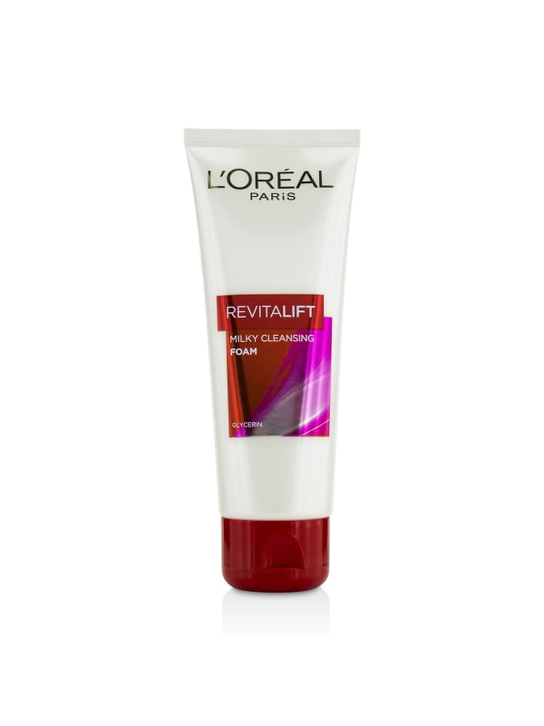 L'oreal Women's Revitalift Milk Foam Face Cleanser
