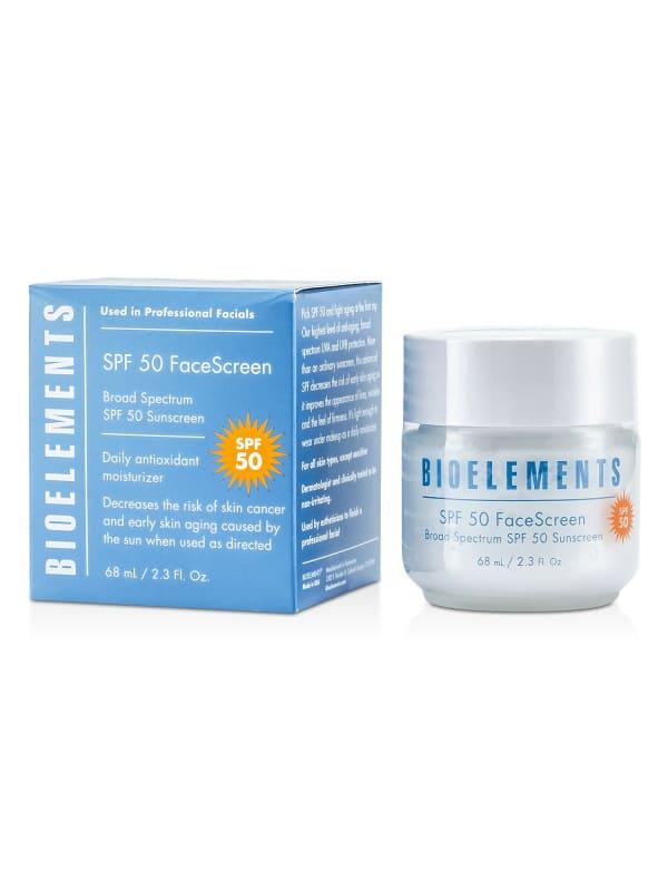 Bioelements Women's For All Skin Types, Except Sensitive Broad Spectrum Spf 50 Facescreen Self-Tanners & Bronzer