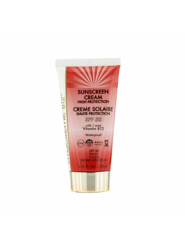 Vitacreme B12 Women's Sunscreen Cream High Protection Spf 50 Self-Tanners & Bronzer