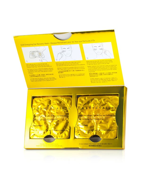 Chantecaille Women's Gold Energizing Eye Recovery Mask Gloss