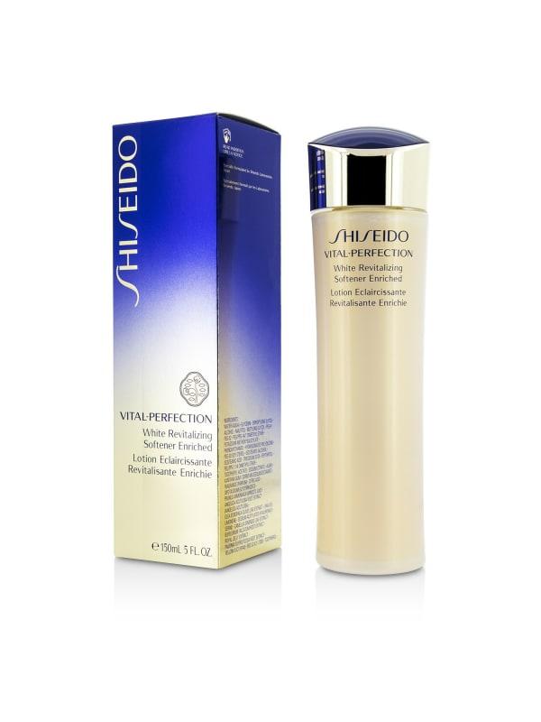 Shiseido Women's Vital-Perfection White Revitalizing Softener Enriched Face Toner