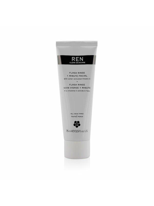 Ren Women's Flash Rinse 1 Minute Facial Mask