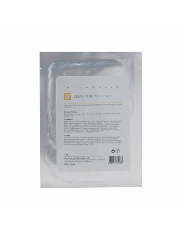 Dermaheal Women's Clean Pore Mask Pack - N/A - Front