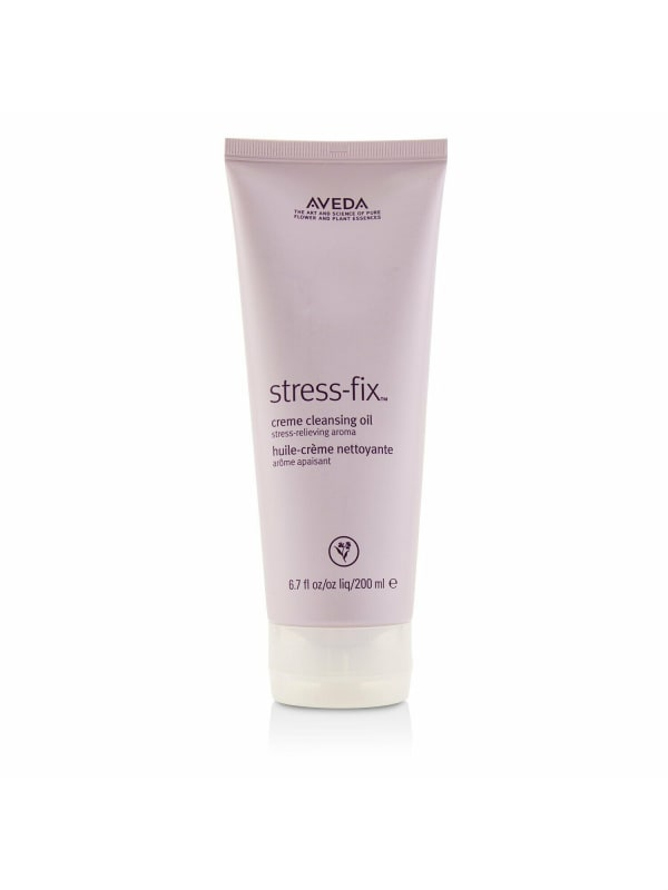 Aveda Women's Stress Fix Creme Cleansing Oil Face Cleanser - N/A - Front