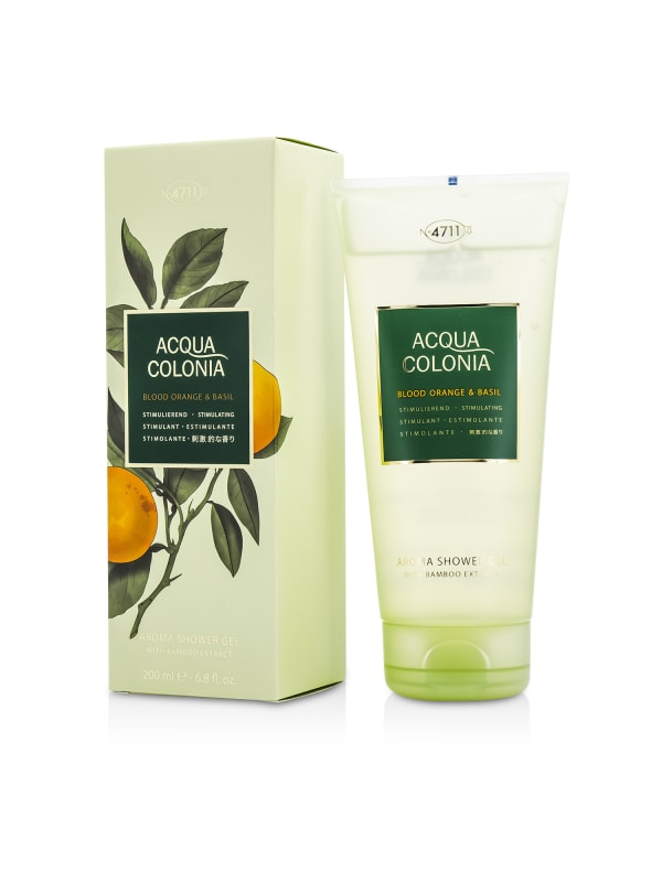 4711 Women's Acqua Colonia Blood Orange & Basil Aroma Shower Gel Bath And Aids