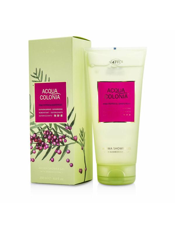 4711 Women's Acqua Colonia Pink Pepper & Grapefruit Aroma Shower Gel Bath And Aids
