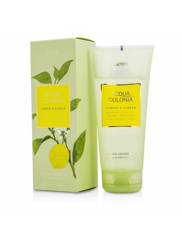 4711 Women's Acqua Colonia Lemon & Ginger Aroma Shower Gel Bath And Aids