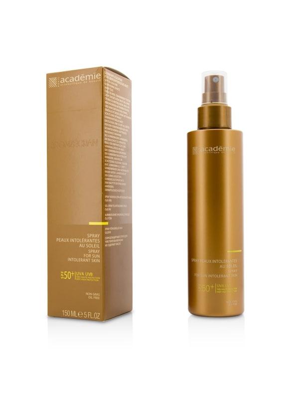 Academie Women's Oil Free Spray For Sun Intolerant Skin Spf 50+ Body Sunscreen - Oil Free - Front