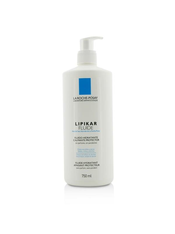 La Roche Posay Women's Lipikar Fluide Soothing Protecting Hydrating Fluid Body Care Set