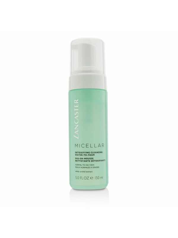 Lancaster Women's Normal To Oily Skin, Including Sensitive Skin Micellar Detoxifying Cleansing Water-To-Foam Face Cleanser