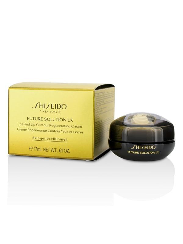 Shiseido Women's Future Solution Lx Eye & Lip Contour Regenerating Cream Gloss - N/A - Front