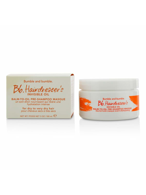 Bumble And Women's Bb. Hairdresser's Invisible Oil Balm-To-Oil Pre-Shampoo Masque Hair Mask