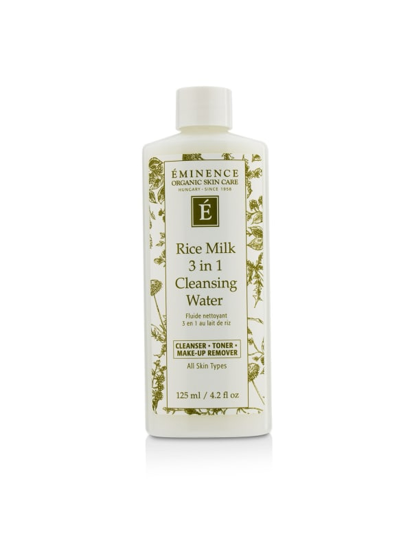 Eminence Women's Rice Milk 3 In 1 Cleansing Water Face Cleanser