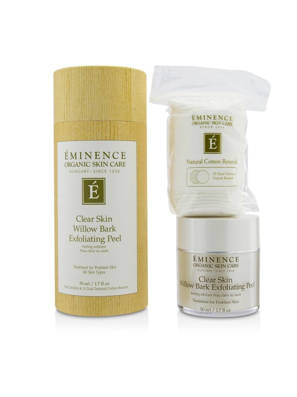 Eminence Women's Clear Skin Willow Bark Exfoliating Peel Exfoliator