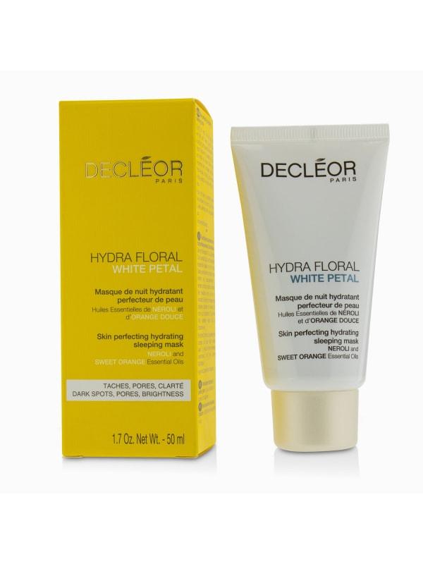 Decleor Women's Hydra Floral White Petal Neroli & Sweet Orange Skin Perfecting Hydrating Sleeping Mask