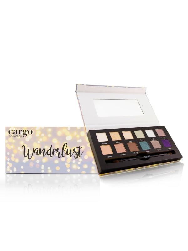 Cargo Women's Wanderlust Eye Shadow Palette Brush Set