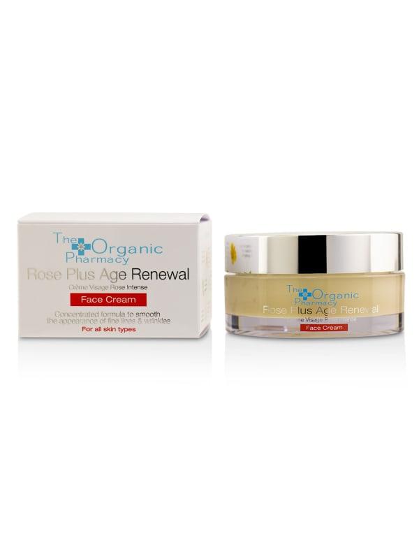 The Organic Pharmacy Men's Rose Plus Age Renewal Face Cream Balms & Moisturizer