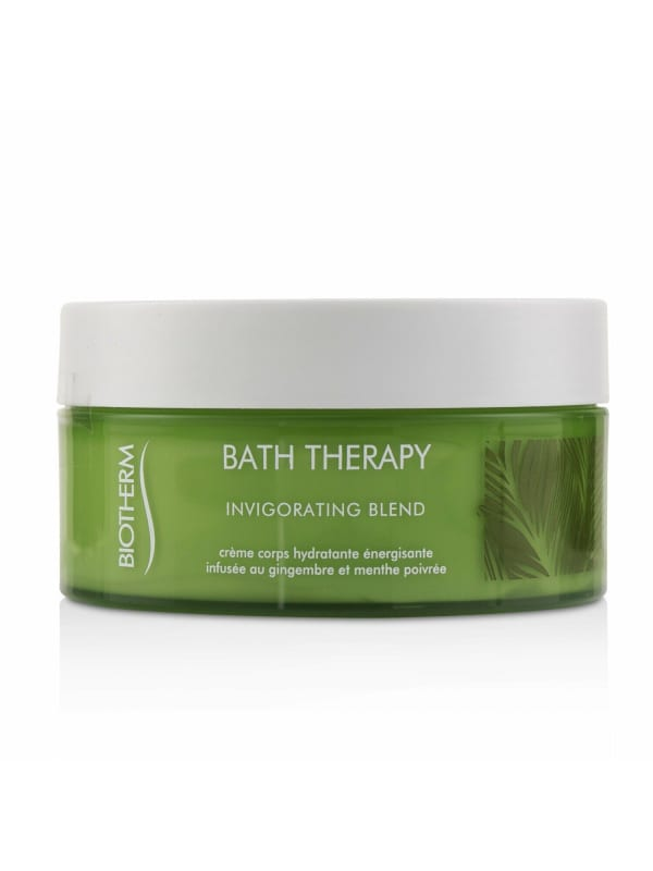 Biotherm Women's Bath Therapy Invigorating Blend Body Hydrating Cream Care Set - N/A - Front