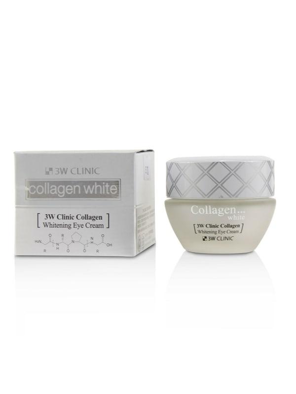 3W Clinic Women's Collagen White Whitening Eye Cream Gloss