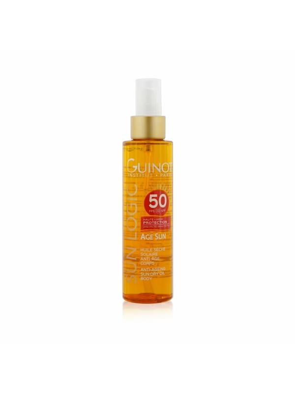 Guinot Women's Sun Logic Age Anti-Ageing Dry Oil For Body Spf 50 Sunscreen