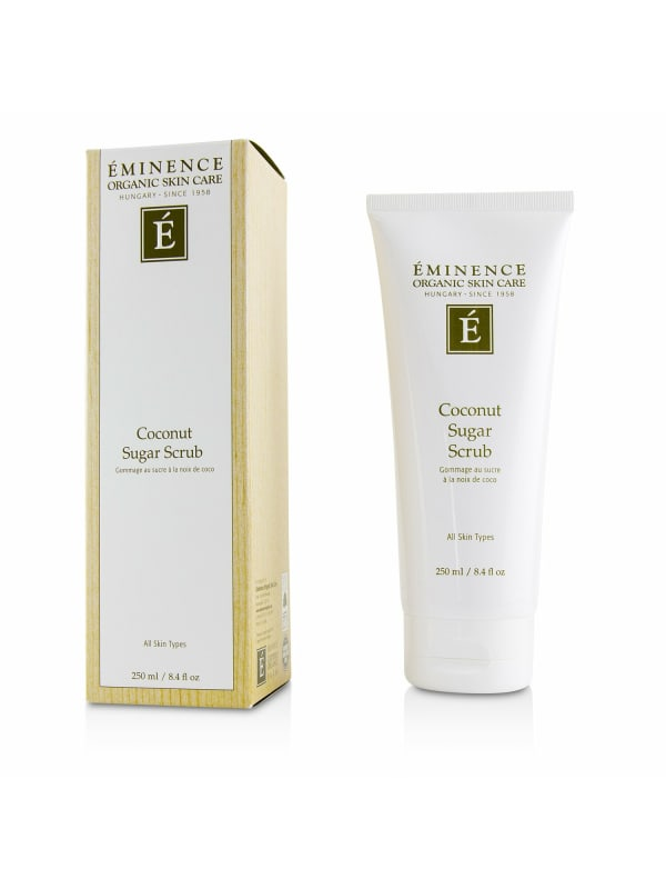 Eminence Women's Coconut Sugar Scrub Body Care Set