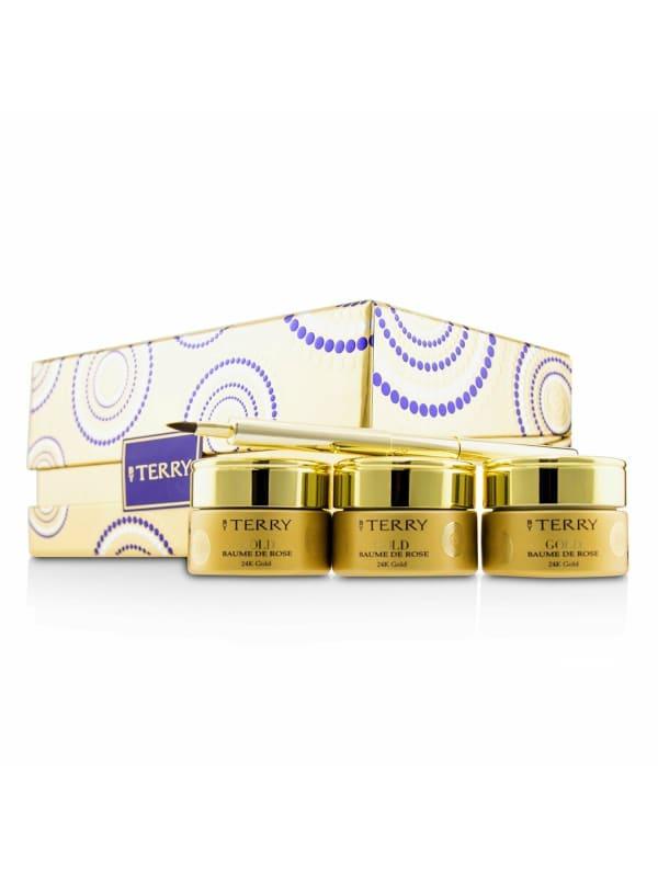 By Terry Women's 24K Gold Baume De Rose Trio Deluxe Lip Balm Jewels Eye Gloss