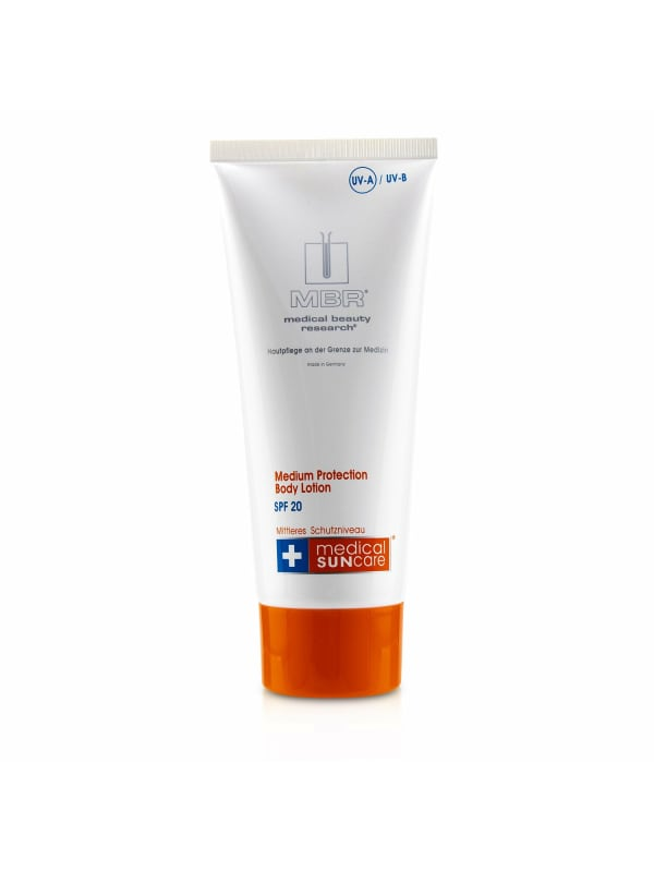 Mbr Medical Beauty Research Women's Suncare Medium Protection Body Lotion Spf 20 Sunscreen