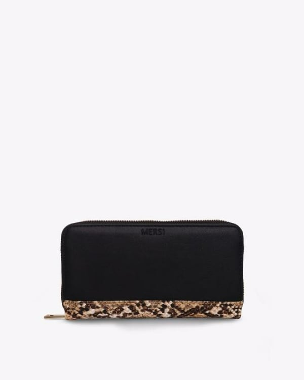 Mersi Evanna Trifold Wallet - Vegan Leather