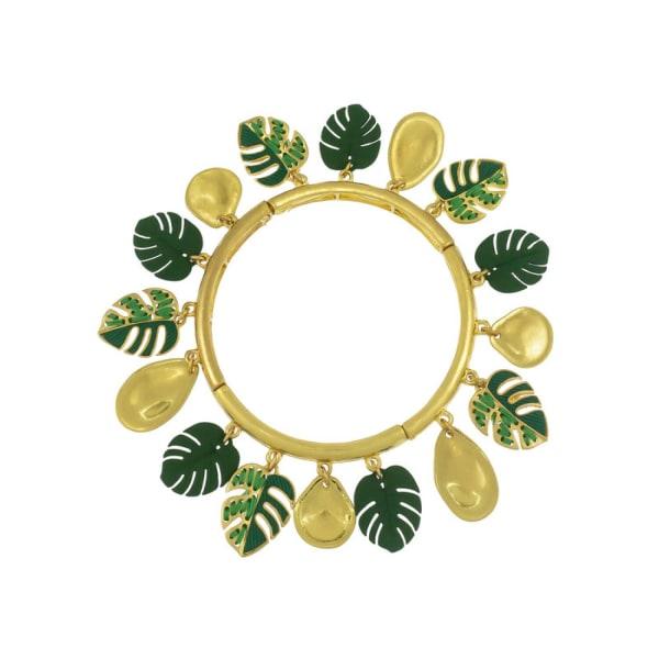 Carol Dauplaise Shaky Leaf Bracelet