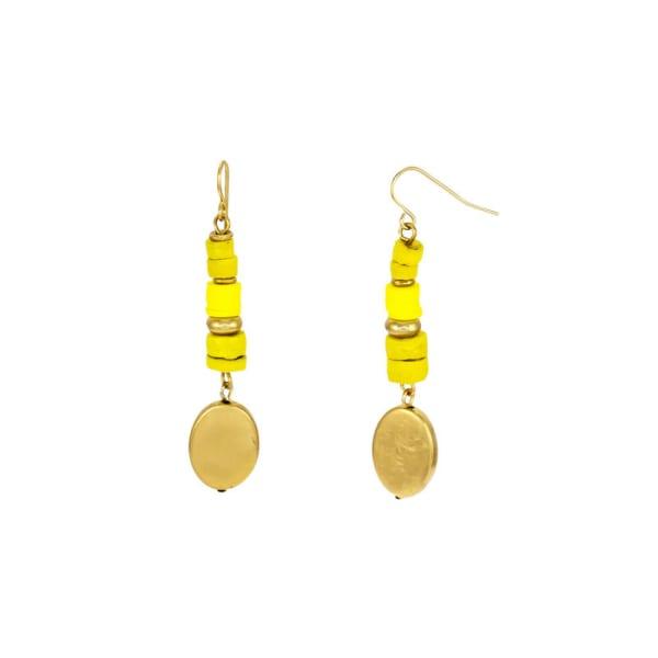 Carol Dauplaise Linear Drop Earrings