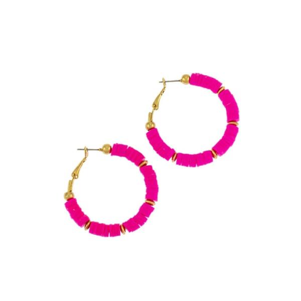 Carol Dauplaise Hoop Earrings
