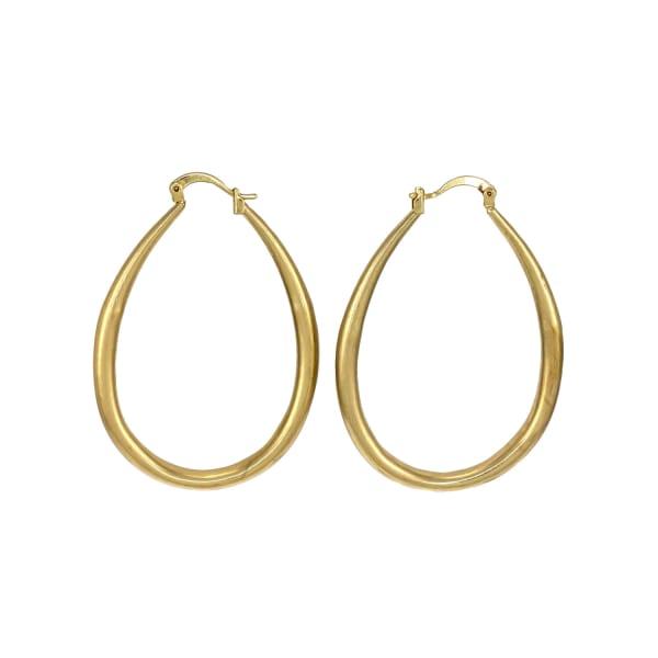 Carol Dauplaise Goldtone Drop Earrings