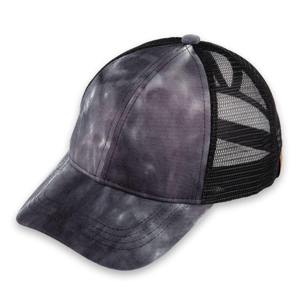 CC Tie-Dyed Pony Trucker Cap