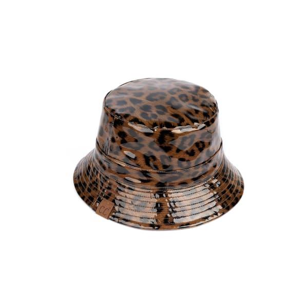 CC Leopard Neutral Reversible Bucket Hat