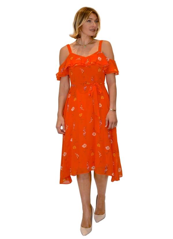 Bleecker 126 Cold Shoulder Dress