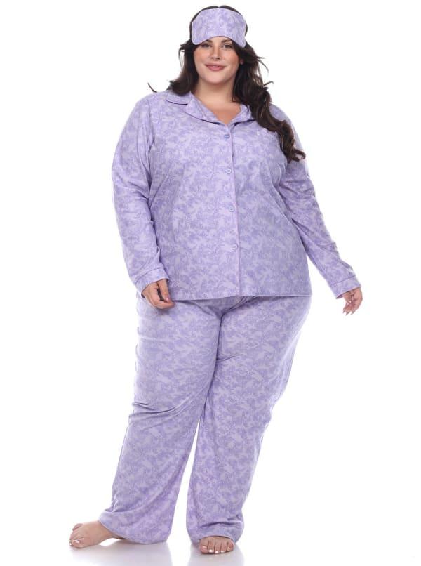 Three-Piece Pajama Set - Plus
