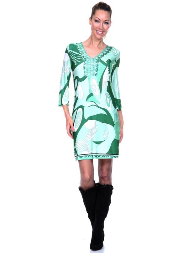 Belinda V Neck Dress