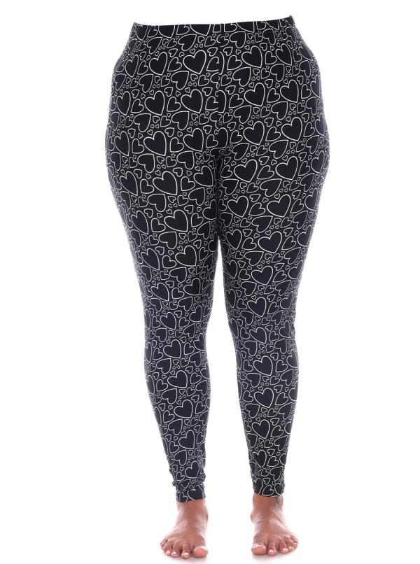 Super Soft Printed Leggings - Plus