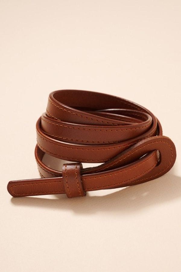 Tie Genuine Leather Belt