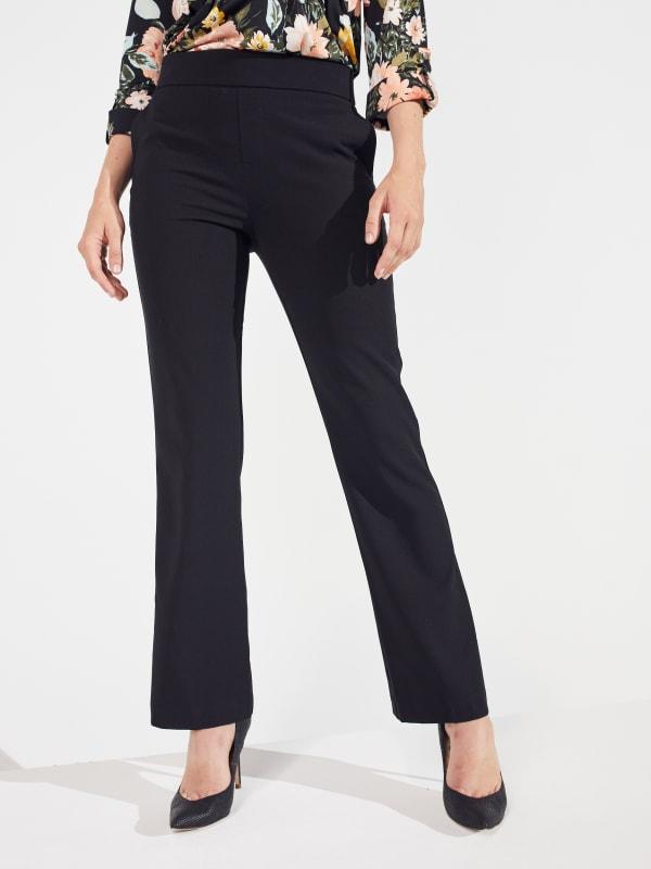 Roz & Ali Secret Agent Slight Bootcut Pants - Petite