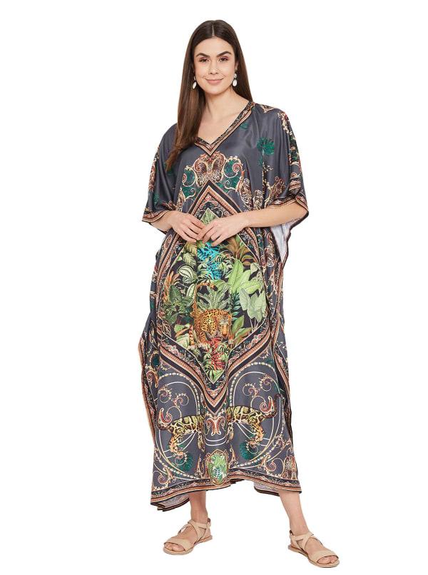 Anchor Kaftan Dress - Plus