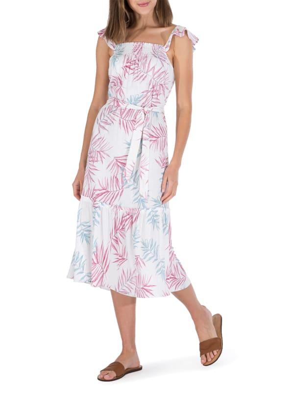 Wanda Ruffle Strap Maxi Dress