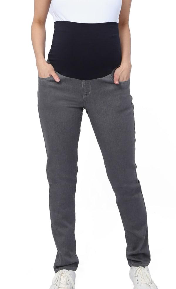 Three Seasons Maternity Slim Leg Colored Denim Jean