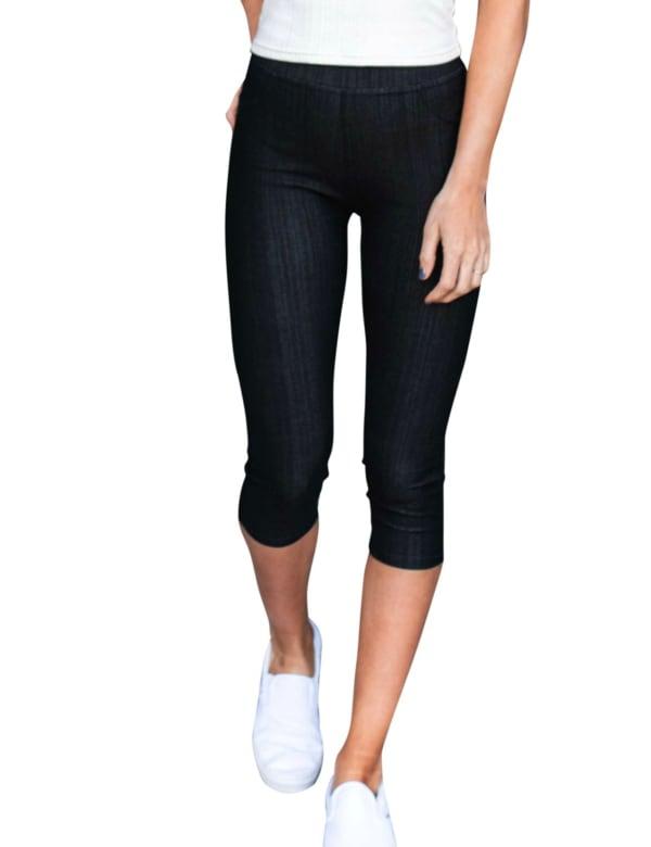 Stretchy Capri Jeans