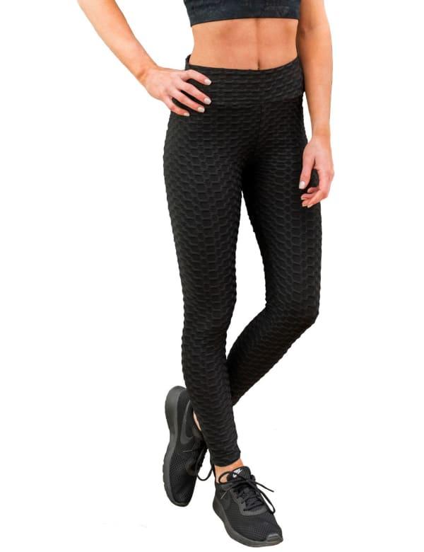 Booty Lifting Anti-Cellulite Leggings - Plus