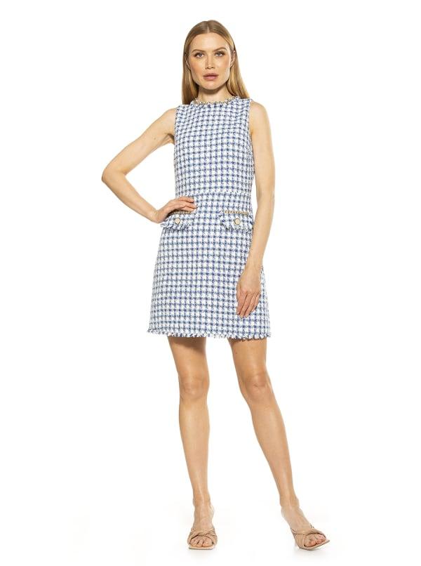 Klara Tweed Dress
