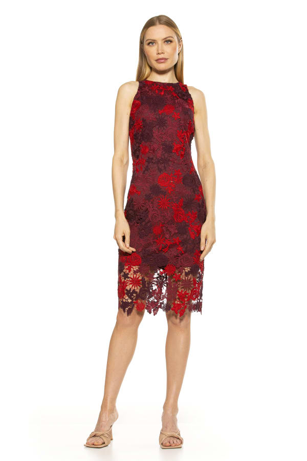 Raquel Midi Lace Dress